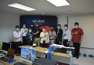 แผนกวิชาเทคโนโลยีคอมพิวเตอร์ อบรมการติดตั้งระบบเครือข่ายไร้สาย Aruba Wireless Network